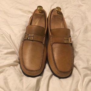 Bruno Magli loafers.